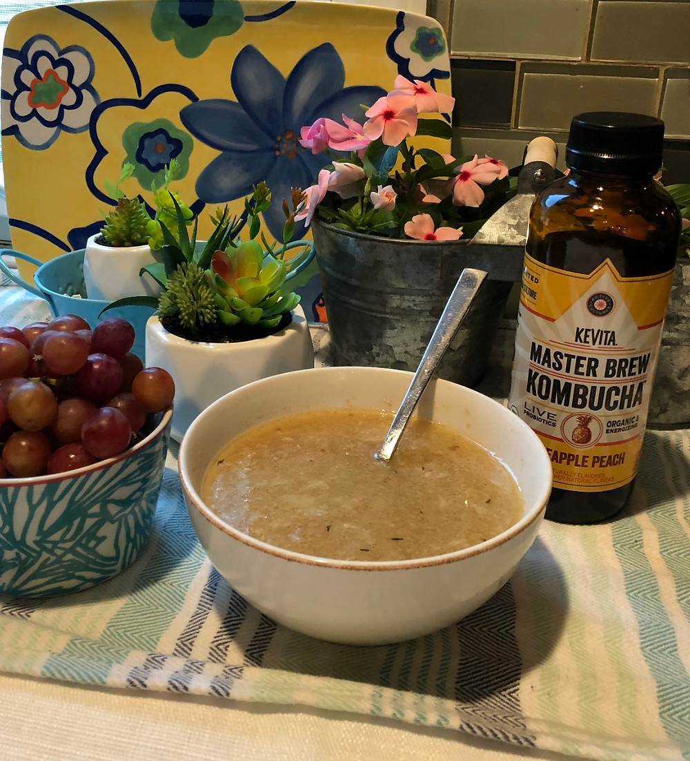 Chicken Bone Broth recipe health benefits