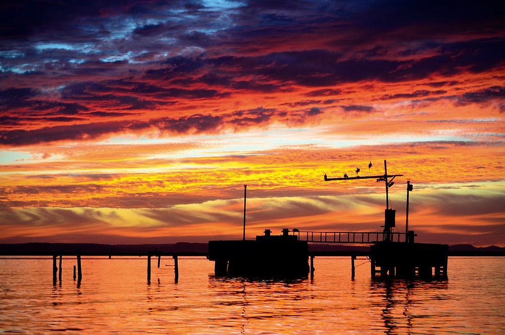 dock on ocean