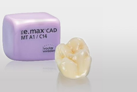New Medium Translucency IPS e.max CAD Blocks