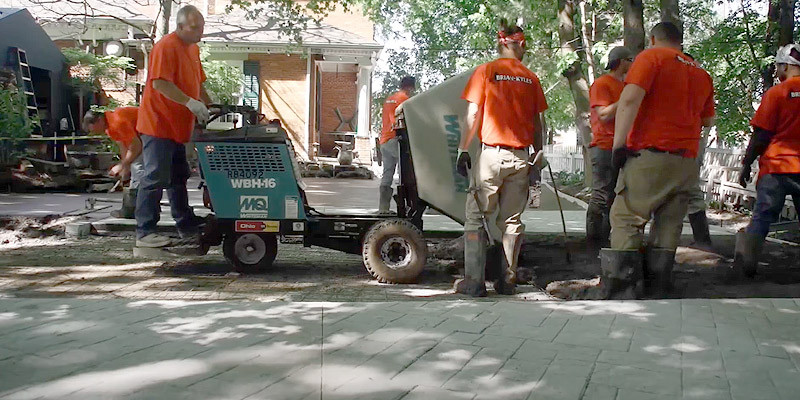Installing Stamped Concrete Patio