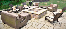 Simple-stone-patio-with-fire-pit-in-Rock