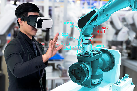 Virtual reality technology in industry 4