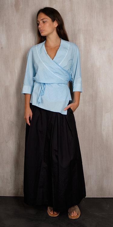 Hannoh Wessel Woman's Wrap Shirt