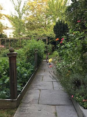 walkway to Cambridge studio.JPG