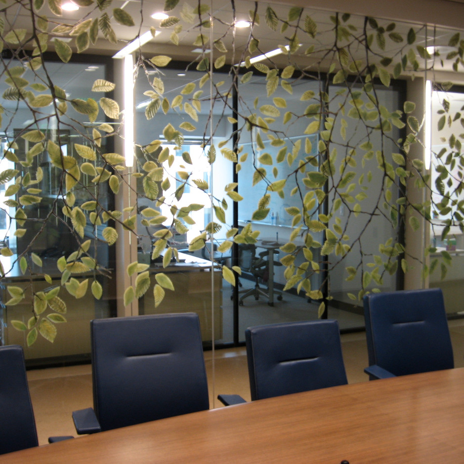 Painting on Glass at the Boston Consulting Group