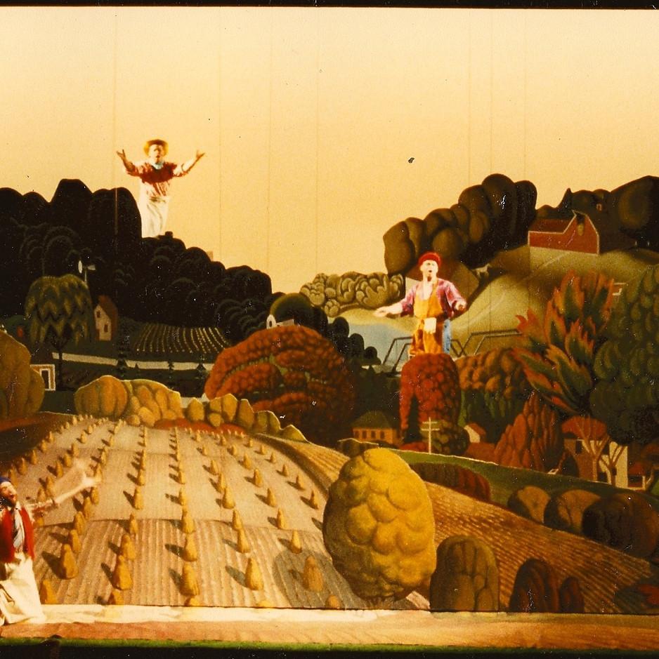 Philip Glass Opera sets