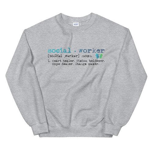 Social Worker Unisex Sweatshirt