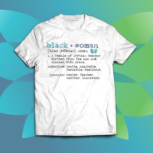 Black Woman Unisex T-Shirt