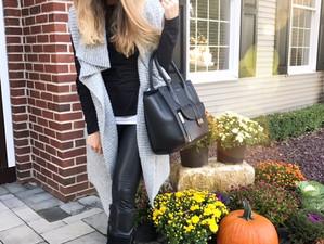 Leather & Sweater Vests #FallFashion