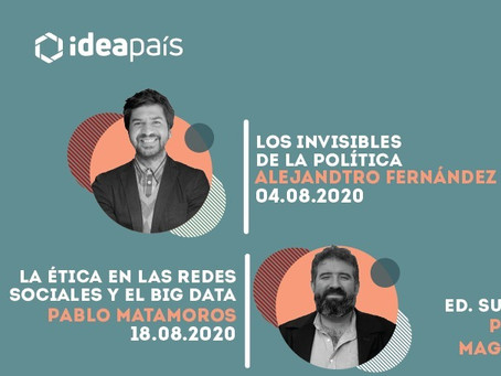CICLO DE CHARLAS LA ESCUELA IDEA PAÍS