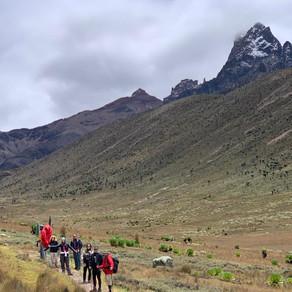 Mont Kenya - 2ème jour