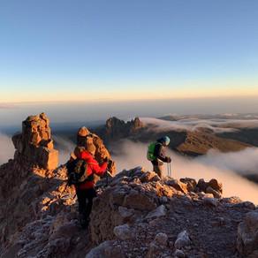 Mont Kenya - L'arrivée
