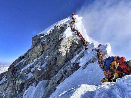 Cinq bonne raisons pour gravir, ou ne pas gravir l'Everest !