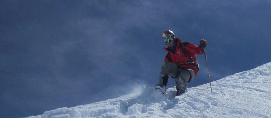 L'alpiniste,le montagnard et… le courage