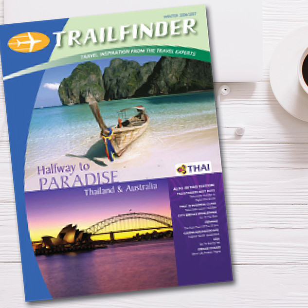 THAI AIRWAYS TF MAGAZINE COVER