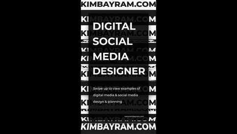 Typographic Instagram Story