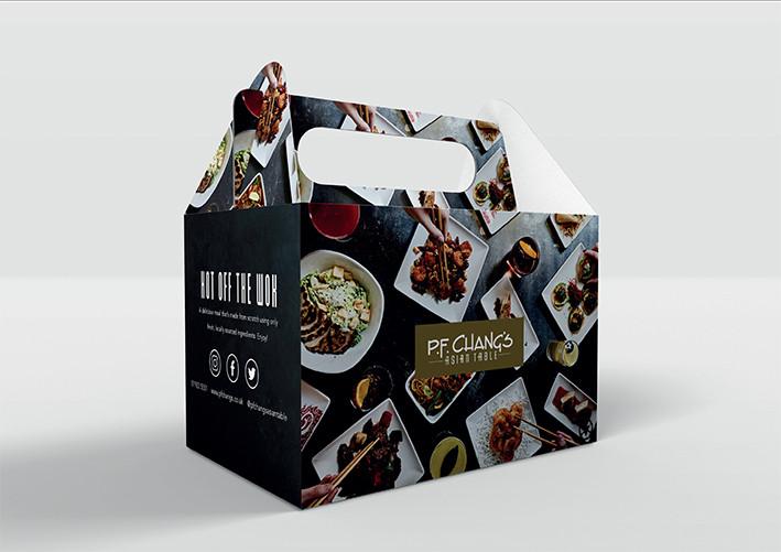 P.F. CHANG'S DELIVEROO BOX