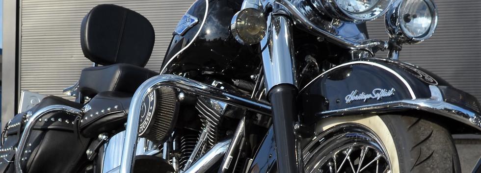 Harley Davidson Softail Heritage Classic Custom 7