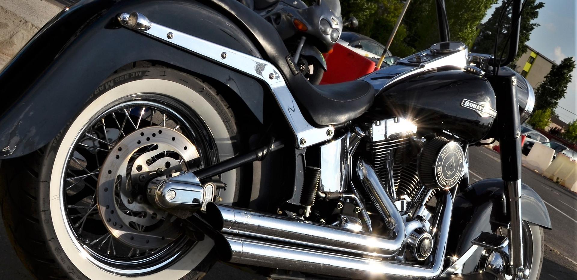 Harley Davidson Softail Heritage Gangsta 4
