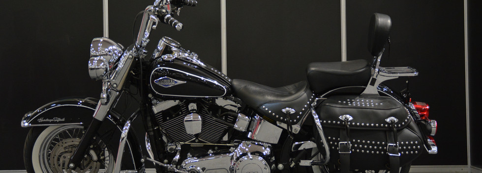 Harley Davidson Softail Heritage Classic Custom 2