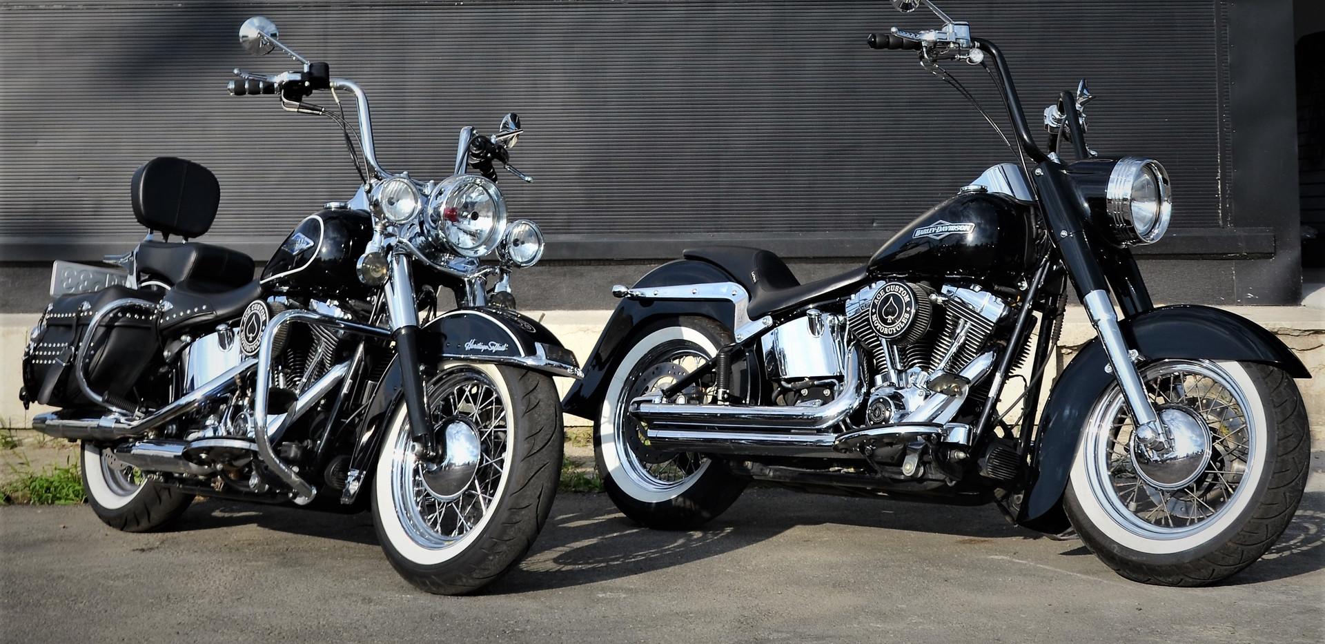 Harley Davidson Softail Heritage Gangsta 5