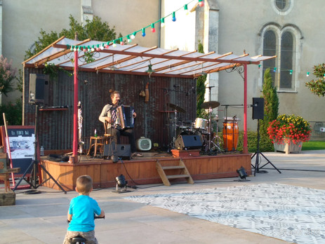 Les musiciens de la rue