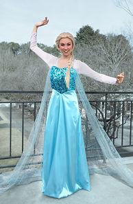 Elsa Frozen Princess Party