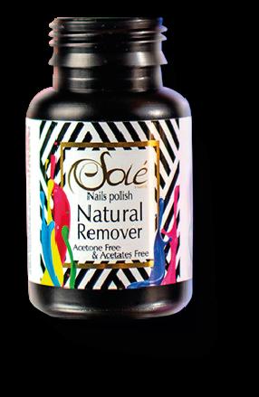 Nail polish natural remover Espuma Miel