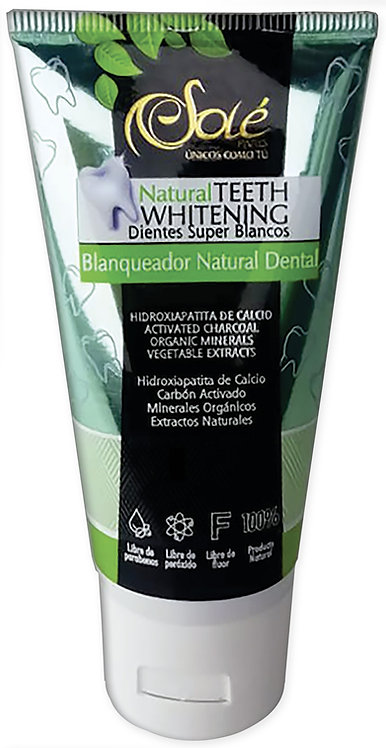 Natural Teeth Blanqueador Natural dental