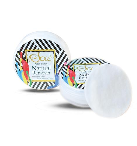 Nail Polish Natural Remover Miel
