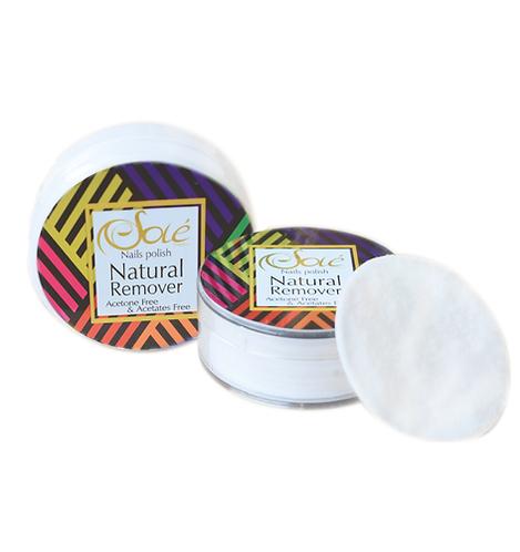 Nail Polish Natural Remover Fresa
