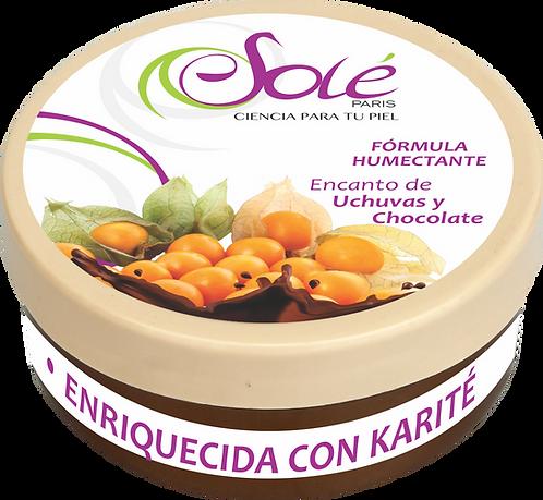 Mantequilla Corporal Therapy Skin Encanto Uchuvas y chocolate