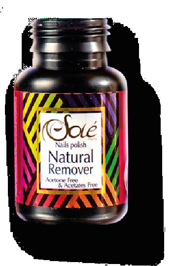 Nail polish Natural Remover Espuma Fresa