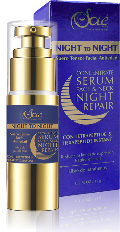 Night to night Serum Anti-edad