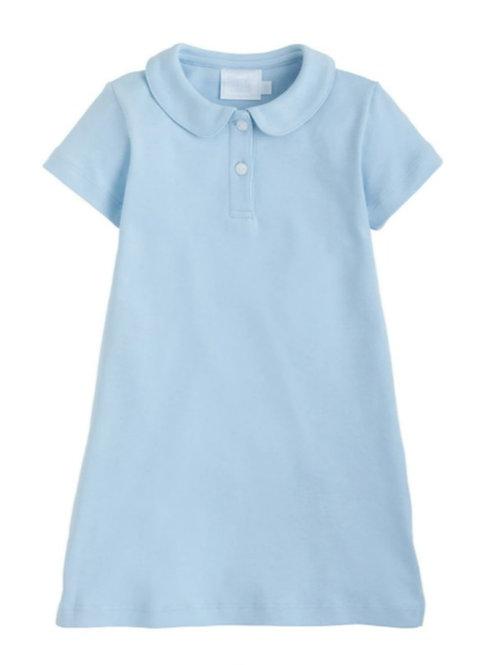 Little Polo Dress Aqua