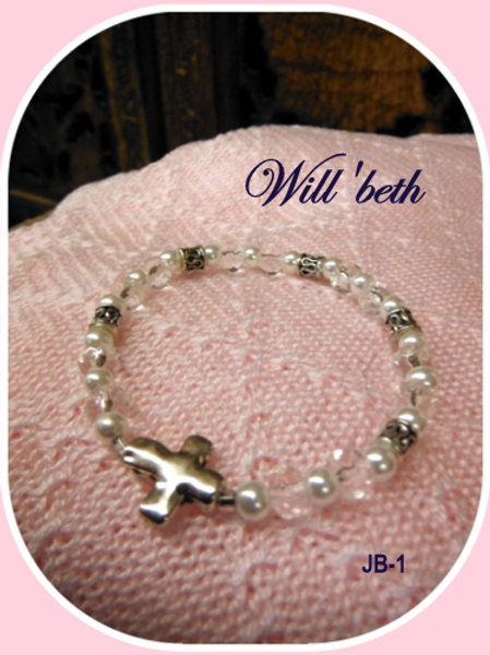 WILL'BETH CROSS BRACELET