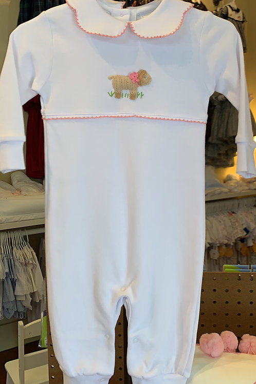 Little English Dog Play Suit