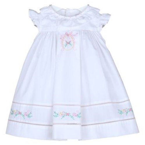 Sophie & Lucas White Floral Dress