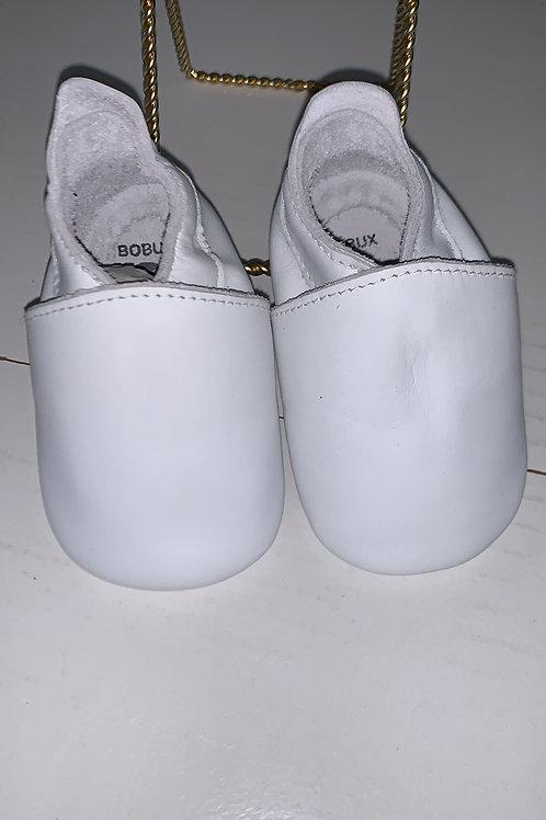 Bobux White Simple Shoe