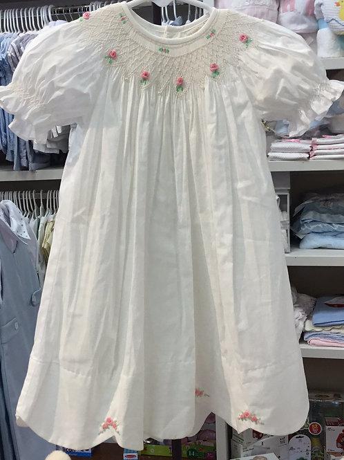 Phoenix & Ren White Smock Dress