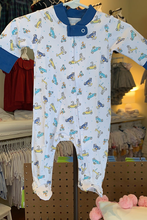 Magnolia Baby Animal Car Pajama