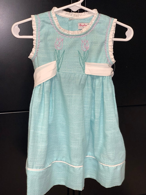 Sophie & Lucas Tulip Teal Dress