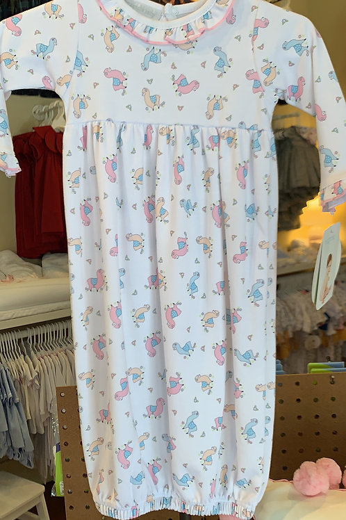 Magnolia Baby Llama Gown