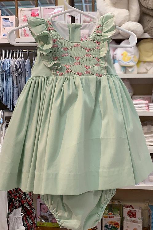 Antoinette Paris Green Dress