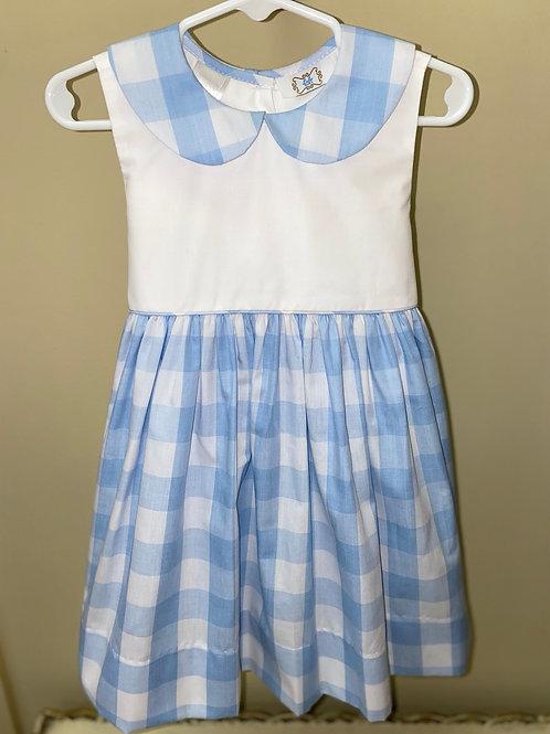 Lulu Bebe Blue Gingham Dress