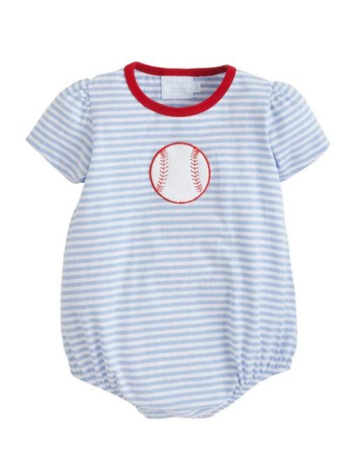 baseball Applique Bubble