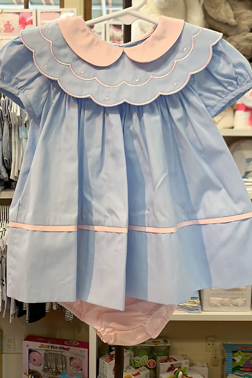 Sophie & Lucas Dress/Bloomer Set