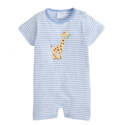 applique Giraffe Romper