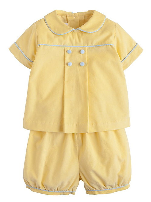 Little English Yellow Short Set