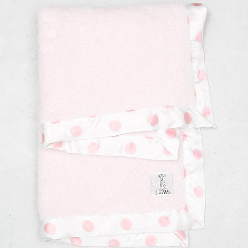 LITTLE GIRAFE CHENILLE NEW DOT BABY BLANKET